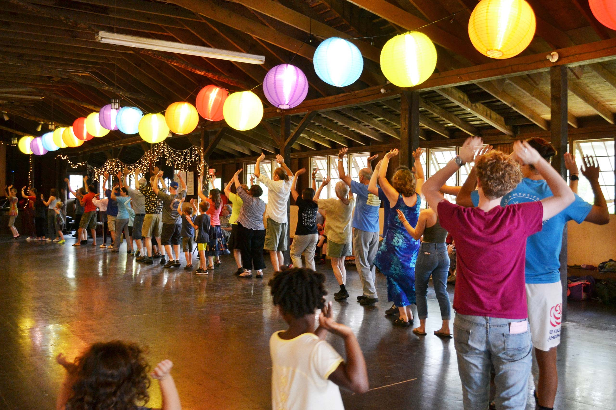 Cascade of Music & Dance at Louise